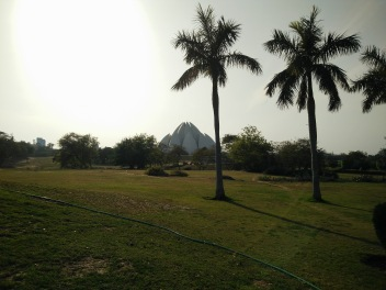 Garden Near Lotus Temple