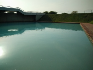 Pool at Lotus Temple