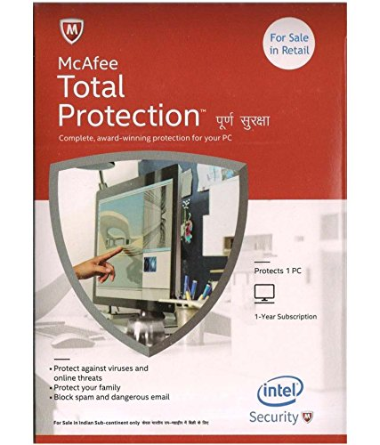 Buying McAfee Total Protection at Just INR 593/- per year